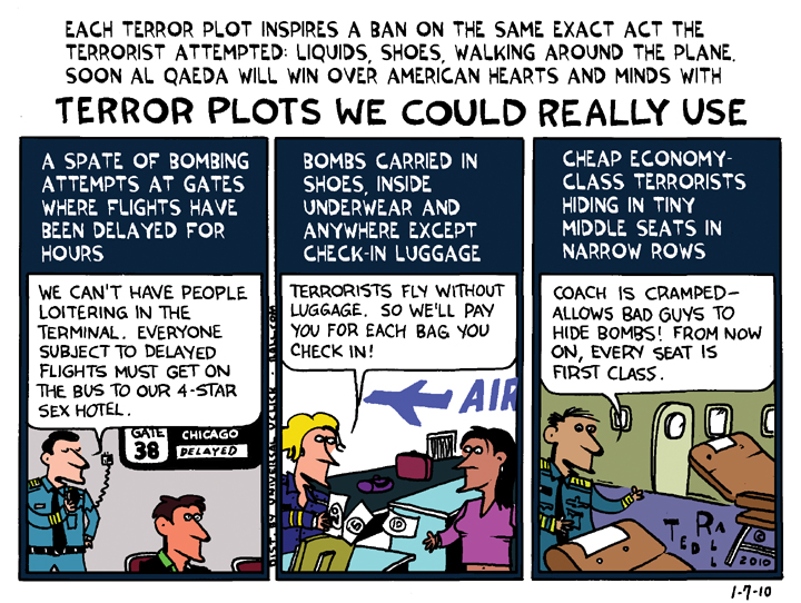 Terror Plots We Could Really Use