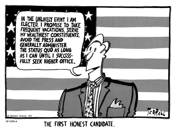 The First Honest Candidate