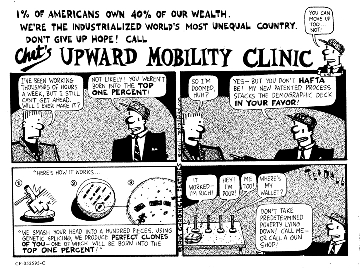 Chet's Upward Mobility Clinic