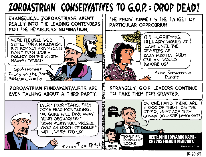 Conservatives Left Behind by GOP