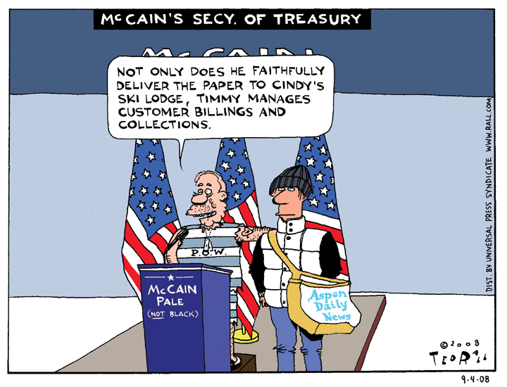 McCain's Secretary of the Treasury