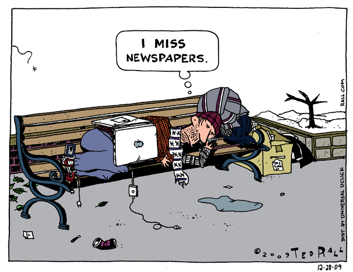 I Miss Newspapers
