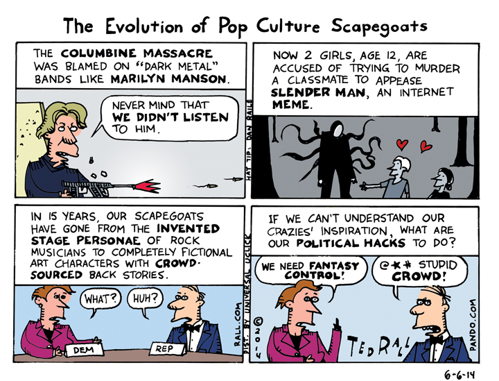 The Evolution of Pop Culture Scapegoats