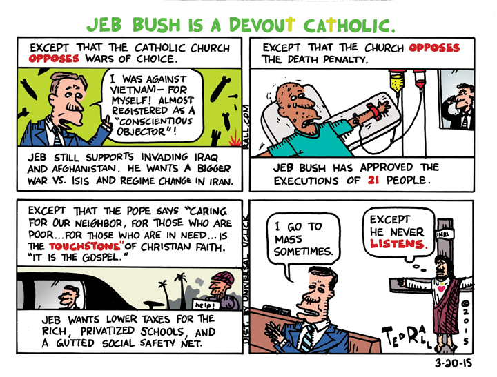 Jeb Bush is a Devout Catholic